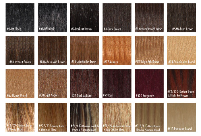 What Color Is Medium Brown Hair Color Chart – Trendy Hairstyles In